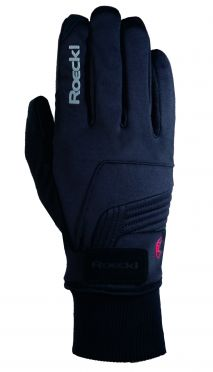Roeckl Rebelva winter cycling glove black unisex