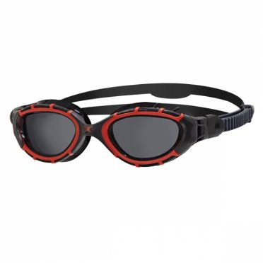 Zoggs Predator flex polarized black/red