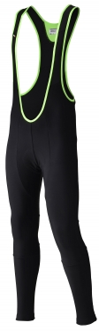Agu Beach racer bibtight with seat pad black men