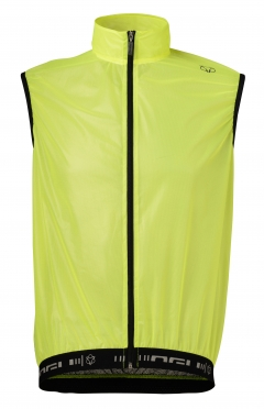 Agu Vernio windvest yellow (fluo)