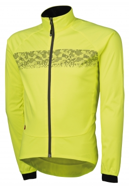 Agu Nova hivis cycling jacket yellow(fluo)/reflection men