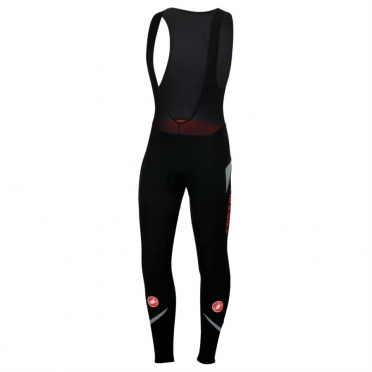 Castelli Polare 2 bibtight black/reflex mens 13523-710