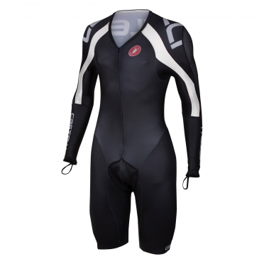 Castelli Body Paint 3.0 speed suit LS black/white men 14002-101
