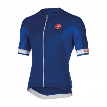 Castelli Volata jersey blue/white men 14014-057