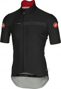 Castelli gabba 2 jacket short sleeve black mens 14511-010