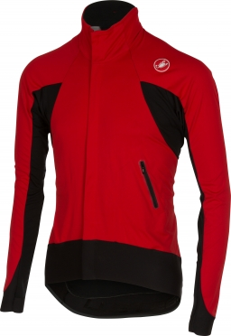 Castelli Alpha wind jersey FZ red/black mens 14516-023