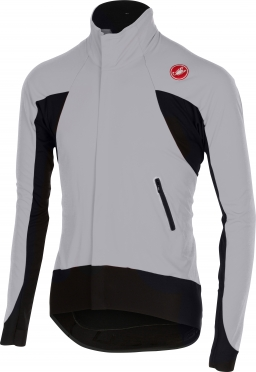 Castelli Alpha wind jersey FZ grey/black men 14516-080