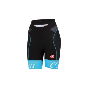 Castelli Free aero W short black/blue women 15045-067