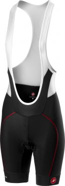 Castelli Velocissima W bibshort black/red women