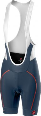 Castelli Velocissima W bibshort blue/orange women