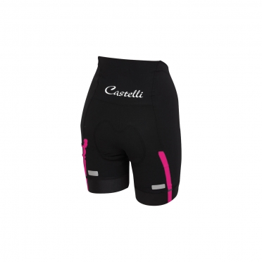 Castelli Velocissima W short black/raspberry women 15047-011