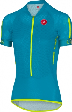 Castelli Climber's W jersey blue/yellow women