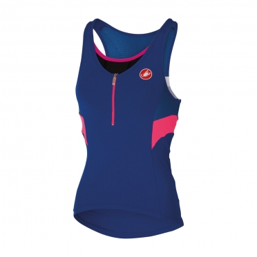 Castelli Regina top surf blue women 15051-057