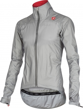 Castelli Tempesta race jacket grey mens 15510-008