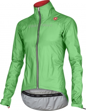 Castelli Tempesta race jacket green-fluo men 15510-045