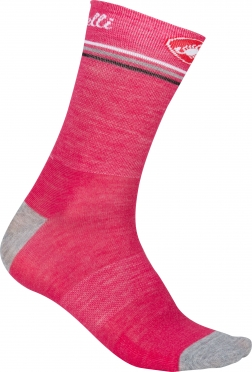 Castelli Atelier 13 cycling sock raspberry women 15569-116