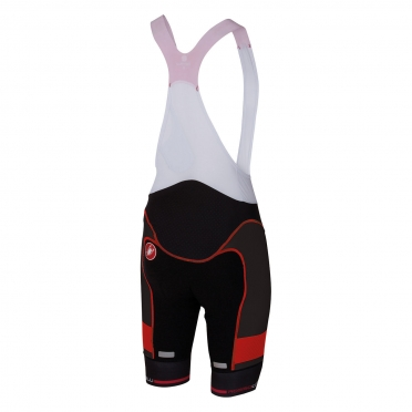 Castelli Free aero race bibshort kit version black/red men 16002-231
