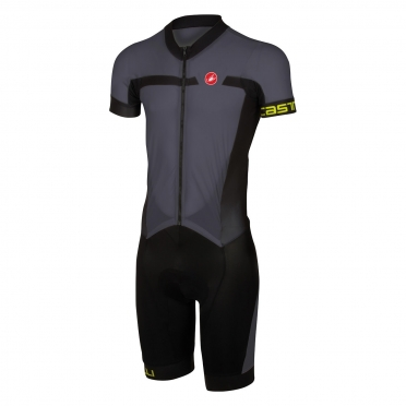 Castelli Velocissimo sanremo speedsuit Anthracite/black men 16005-009