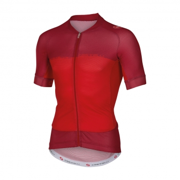 Castelli Aero race 5.1 jersey red men 16007-023