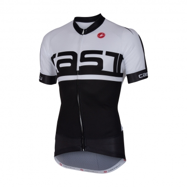 Castelli Meta jersey black/white men 16016-101