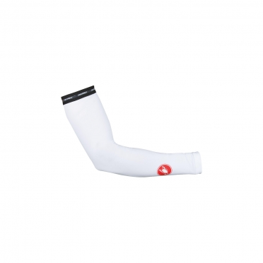 Castelli UPF 50+ light armwarmers white 16036-001
