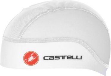 Castelli Summer skullcap under helmet white men