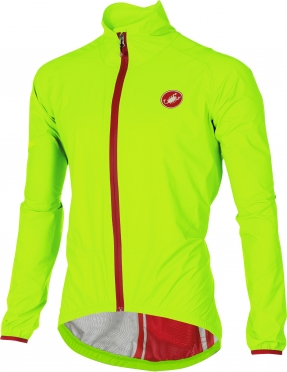 Castelli Riparo rain jacket yellow men 16050-032