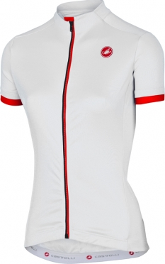 Castelli Anima jersey white women