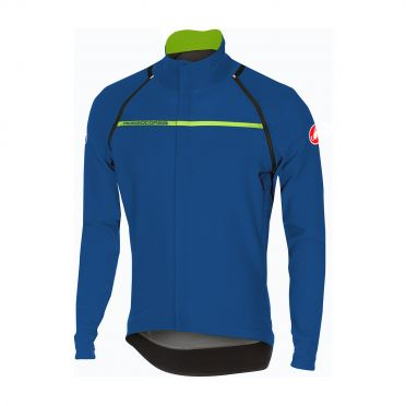 Castelli Perfetto convertible jacket ceramic blue men