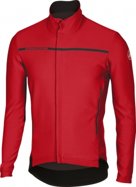 Castelli Perfetto long sleeve jacket red men 16507-023