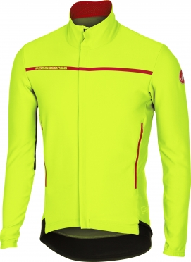 Castelli Perfetto long sleeve jacket yellow-fluo men 16507-032