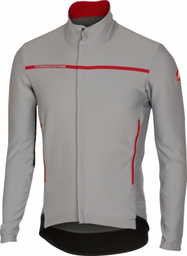 Castelli Perfetto longe sleeve jacket grey men 16507-080