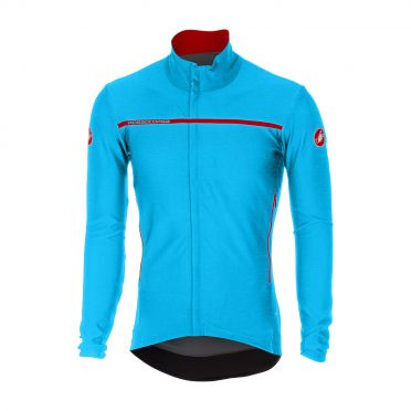 Castelli Perfetto long sleeve jacket sky blue men