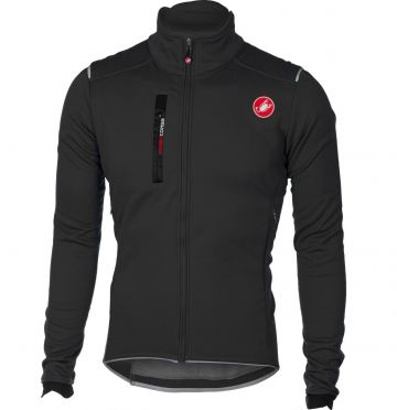 Castelli Espresso 4 jacket light black