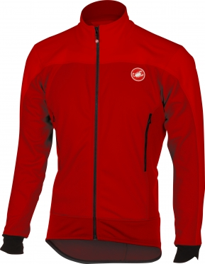 Castelli Mortirolo 4 jacket red men 16511-023