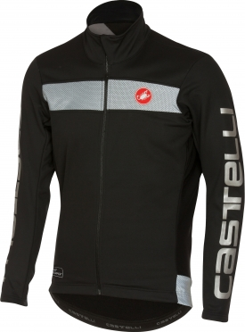 Castelli Raddoppia jacket black/reflex men 16514-010