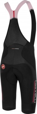 Castelli Omloop thermal bibshort black/red men 16520-231