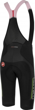 Castelli Omloop thermal bibshort black/yellow men 16520-321