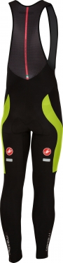 Castelli Velocissimo 3 bibtight black/yellow men 16522-321