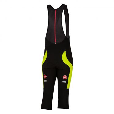 Castelli Velocissimo 3 bibknicker black/yellow fluo men