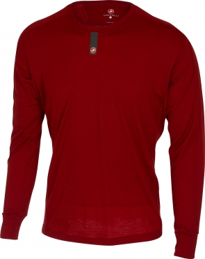 Castelli Procaccini LS baselayer men red 16531-017