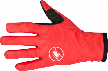 Castelli Scudo cycling glove red men 16536-023