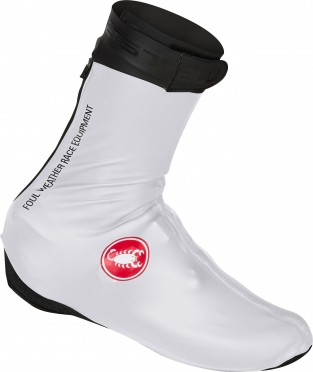 Castelli Pioggia 3 shoecover white men 16539-001