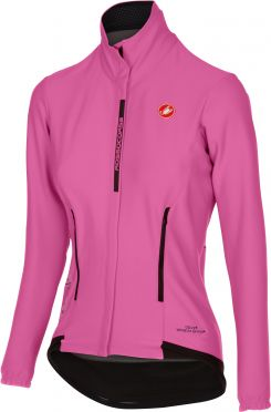 Castelli Perfetto W long sleeve cycling jacket giro pink women - Limited Edition