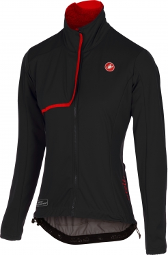 Castelli Indispensabile jacket black/red women 16543-010