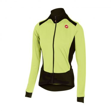Castelli Sciccosa long sleeve jersey lime women