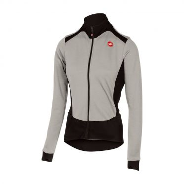 Castelli Sciccosa long sleeve jersey gray women