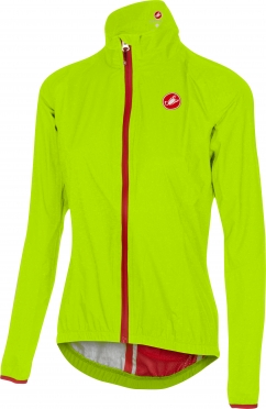 Castelli Riparo rain W jacket yellow-fluo women 16550-032