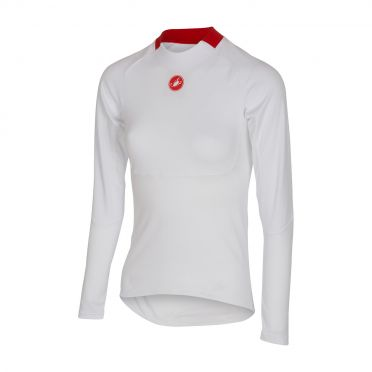 Castelli Prosecco LS baselayer women white 16555-001