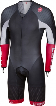 Castelli Body paint 3.3 speedsuit long sleeve black/white men